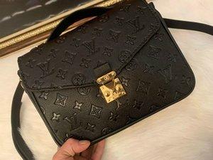 LVLOUISVUITTON100% Véritable sac double glissière cosmétiques à main en cuir femmes Wallet Michael Sacs à bandoulière bourse d'embrayage