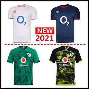 Sıcak satış İyi Kalite 2021 altı Milletler İskoçya İrlanda Rugby forması ANA Gömlek milli takım İRLANDA IRFU rugby formaları büyük beden 5XL