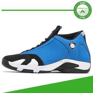 Nike Air Jordan Retro 14 14s Erkekler Basketbol Ayakkabı Spor Kırmızı Hiper Kraliyet Siyah Parmak Fusion Varsity Kırmızı Süet Son Shot Thunder DMP Sneakers