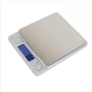 1KG 2 kg 3 kg / 0.1g Cozinha Balança Digital Portátil de bolso LCD Mini Balança eletrônica Jóias Cozinha Peso Equilíbrio Digital Máquina LJJP300