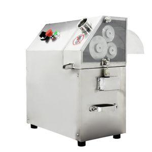 220V QJH-L100A 3 Silindirler Paslanmaz Çelik Elektrikli ŞEKER Cane Meyve sıkacağı Ticari Şeker kamışı Meyve Sıkacağı Makinesi 350-400kg / H 1pc