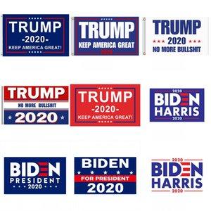 Banderas Biden 90 * 150cm Banderas de América del presidente de Donald Trump Biden Harris Bandera Elección del envío de DHL FWB1170