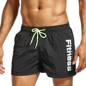 JOCKMAIL Quick Dry Summer Conseil Mens Siwmwear Mens shorts de plage Briefs pour les hommes Swim Trunks Maillot de bain Shorts de plage