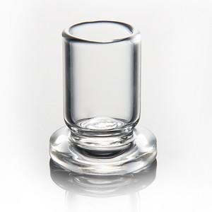 OD 25 millimetri Carb Cap Holder Spesso Chiaro vetro stand Rig Stander Per Carb Cap Dabber Bong Oil