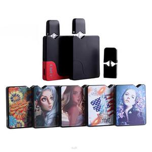 Originale CigGo Jbox Kit E Cigarette Pod Kit 350mAh Vape Mod vuoto con olio E-liquido pod o Mod A soli 7 Colori J Box