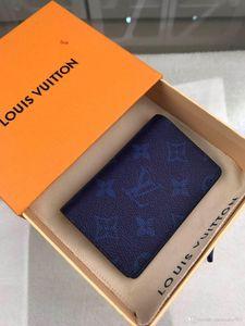 Männer und Frauen Brieftasche Karteninhaber, europäischen und amerikanischen Stil, eine Vielzahl von Farben, frei von Fracht, Geschenk-Taschen + Boxen LQ103