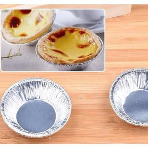 30 Pcs Disposable Round Muffin Cupcake Tart Mold Baking Egg Tool Tart Cookie Cup Baking Mold Cookie Muffin