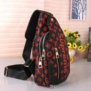 2020 Brand designers unisex waist bags fashion pu leather chest bags for men and women high quality fanny packs free shipping