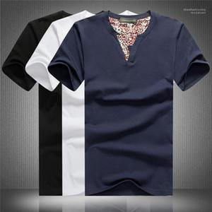 Short Sleeve Homme Clothing Slim Fit Tshirt Summer New Mens Designer Casual Tshirt Fashion Solid Color