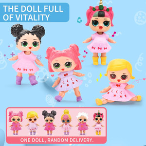 Play House Lucy Dolls Set Light Sound Watch Accessories Educational Girls DIY Creative Princess Toys Birthday Gift For Children