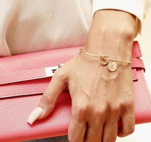 S925 silver 26 words bracelet with 3 colors screw bracelet Unsex designer bracelets Sterling bijoux de créateurs de luxe femmes bracelets
