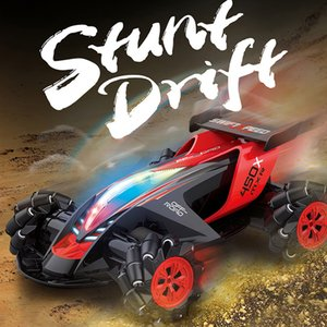 360 Degree 4WD Off-road RC Car Toy 1 10 Stunt Tire Drift Spin Racing Vehicle Gift DC156
