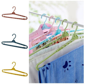 Plastic Adjustable Clothing Hanger Windproof Clip Durable Rotatable Clothes Storage Rack Scalable Traceless Racks Home 2 26ch G2