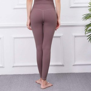 Solid color women's yoga pants high waist sports gym wearing tights stretch fitness women overall tights leggings fitness yoga sports 001