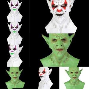 sg6Zv см Смола японский буддийский эмульсия капюшон Зла Клоун Oni Нох Хэллоуин маски маскарад Hannya имп Косплей Dancing Party Mask