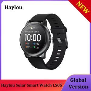 Haylou Solar Smart Watch LS05 Sport Metall Herzfrequenz Sleep Monitor IP68 Wasserdichte iOS Android von Xiaomi YouPin Global Version