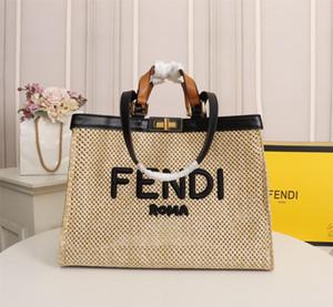 Nuove borse delle signore di vendita calde Shopping bags borse del modo Europa e le borse della spesa tessuti a mano di grande capacità