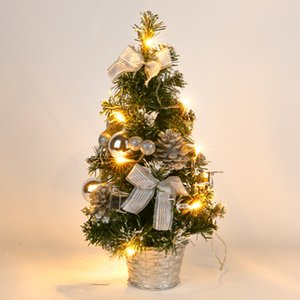 40CM Best Kids GiftChristmas Tree New Year Xmas Tree Ornaments For Home Party Decoration Merry Christmas Table Decor A
