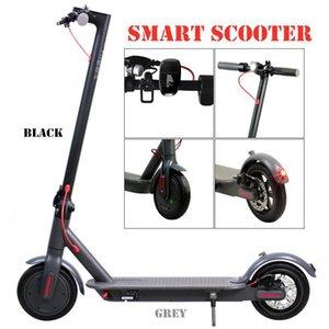 Auf elektrischen Roller 250W Folding Kick-Fahrrad-Roller für Erwachsene 36V mit LED-Anzeige High Speed Off Road MK083
