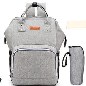 New-Fashion Mummy Maternity Nappy Bag Brand Large Capacity Baby Diaper Bag Travel Backpack Designer Nursing Bag for Baby Care