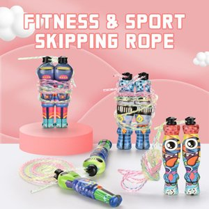 2.8m Sports Jump Rope Alien Shape Colorful Skipping Rope Adjustable Fitness Sport Exercise Cross Fit For Kid Outdoor Toy 01