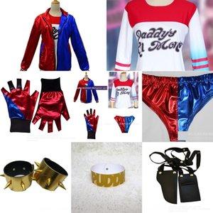 Harley Quinn ragazza clown cosplaywear Suicide Squad Harley Quinn servizio Play Service gioco Suicide Squad ragazza clown cosplaywear