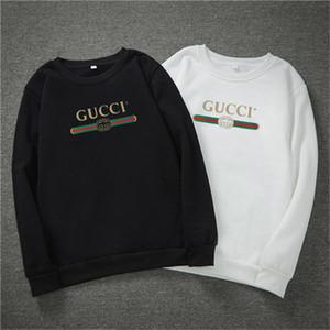 2020 GUCCI Men Designer Pullover Teenager Bekleidung Herren drapierte Frühlings-Herbst-Sweatshirts Bedruckt Hommes Pullovers