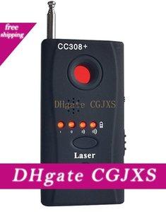 Full Range Anti-Spy Bug Detector CC308 mini macchina fotografica nascosta senza fili del segnale GSM dispositivo Finder Privacy Security Protect