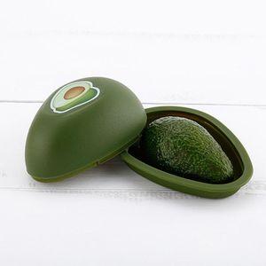 Новый 1Pcs Fresh Box хранения Авокадо чеснок Пластиковые Овощной Фрукты Контейнеры Кухня Холодильник Организатор хранения