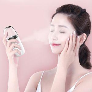 Drop ship 30ml Nano Mist Sprayer Portable Mini Handheld Summer Moisturing Facial Steamer Face Steamer Humidifier Mist Spray Beauty Skin Care