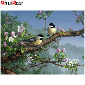 Полный DIY 5D Алмазные Картина животное birdflower крестом квадрат Алмазные рисунков вышивания Стразы Алмазная Мозаика XY1