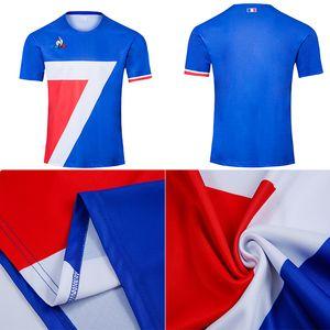 Новый стиль 2020 2021 Франция Супер регби Трикотажные рубашки качества Таиланд 20 21 Франция регби Майо де Foot Французский BOLN регби рубашки S-5XL