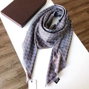 progettista di qualità di moda all'ingrosso sciarpa sottile classico senza tempo, lungo eccellente scialle morbida sciarpa di seta 140x140cm moda donna
