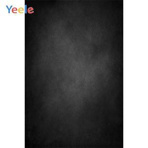 Yeele Градиент Solid черного цвета автопортрет ткань Фотография Фон Индивидуального Фотографические фоны для Фотостудии