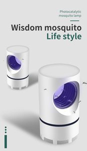 LED-Moskito-Lampe LED-Photokatalysator Moskito-Mörder-Lampe USB Powered ungiftige UV-Schutz Mute Moskito-Mörder-Lampe
