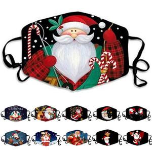 Buon Natale maschera adulto regalo di Natale Albero di Santa Claus progettista viso maschere del pupazzo di neve dei cervi antipolvere nebbia maschera il trasporto libero