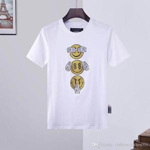 erkek tasarımcı t shirt Mens Kafatası tişört Yüksek Kalite Phillip düz Phillip Düz PP yy57 önyükleme t shirt Tees erkek tasarımcı ceketler baskı