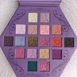 Новые J Star 18colors Жажда крови Eyeshadow Shimmer и матовая Puple Palette Eyeshadow Косметика Artistry Palette бесплатная доставка
