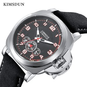 Reloj KIMSDUN Marca relojes de los hombres mecánicos automáticos impermeable deporte masculino casual de negocios de pulsera Relojes Hombre