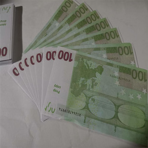 New 10 20 50 100 Euro argent de faux billette argent Film euro faux billet 20 jeu Collection et cadeaux M30