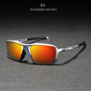 2020 Männer Sun-Glas-TR90 Light Frame-Platz Bunte polarisierte Sonnenbrille Pilot Mens fahren Sonnenbrille Männlich Brillen CX200707