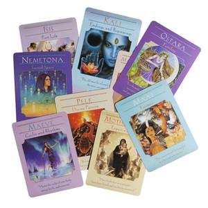 Für Unterhaltung Tischspiele-Party-Karte Oracle Divination Fate Goddess Deck Guidance Karte Spielen Tarot Spiel 44pcs Karten yxlxIO