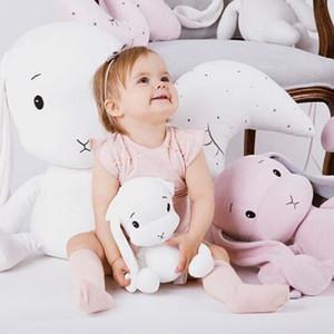 25 centímetros Coelho bonito Plush Toys Super Macio coelhinho de pelúcia do bebê Pillow quarto Decoração Plush Toys melhor presente para as crianças