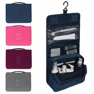 New Portable Travel Cosmetic Makeup Bag Toiletry Case Hanging Storage Large Bag Organizer DHC854