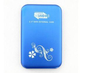 2 .5 İnç Hdd Dış Kılıf Usb 3 0,0 Sabit Sürücü Disk Sata Harici Depolama Muhafaza Alüminyum ile Perakende Paketi