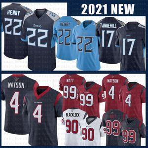 22 Derrick Henry 4 Deshaun Watson TennesseeTitan TexansHouston Football Jersey 17 Ryan Tannehill 99 J.J. Watt 90 Jadeveon Clowney