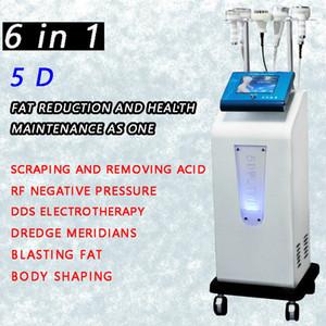 2020 latest multi-function facial lifting ultrasonic cavitation 5D engraving instrument RF vacuum body slimming machine fat spray CE