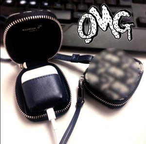 Designer Brief Airpods Profall Luxus-Schutzhülle Anti-loss-Marke Kopfhörer Creative-Designer Airpod Fall 2092401B