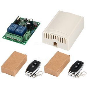 50Pcs / Lot 433Mhz senza fili Universal Remote Control Switch AC Ricevitore Relay 250V 110V 220V 2CH Module + 2Pcs / Lot RF