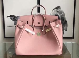 Мода Quality Iconic Berkin 25-30-35-40cm Taurillon кожа Мода Totes сумка, Turn закрытия замка, двойная вершина ручки, придите с пылесборником